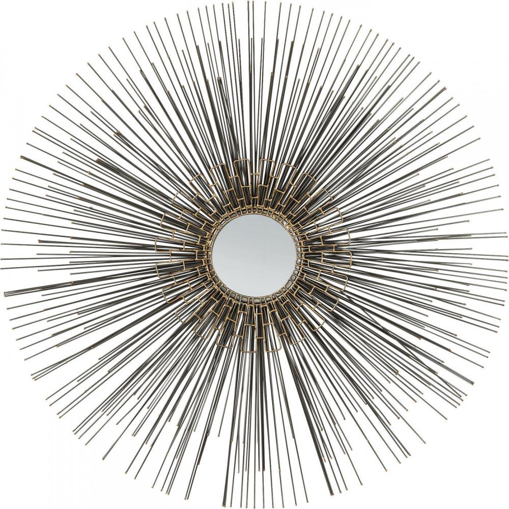 Vacker rund spegel  - Wohnzimmer.se