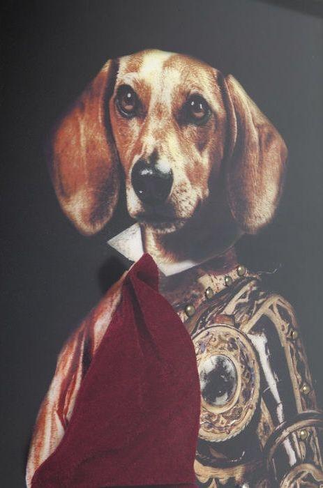 Kitschig och kul konst av Kung Hund