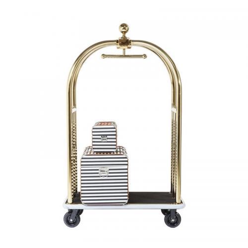 Bagage Trolley Guld