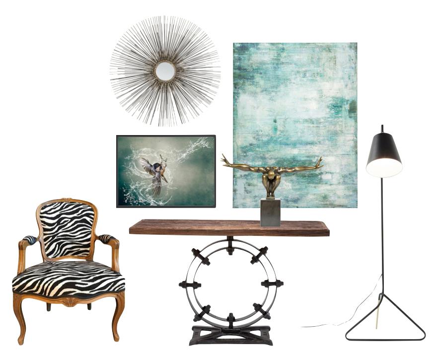Kombinera tavlor och dekor för personlig inredning - Wohnzimmer.se