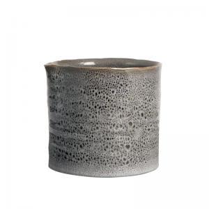 Kruka Gannis Grå keramik