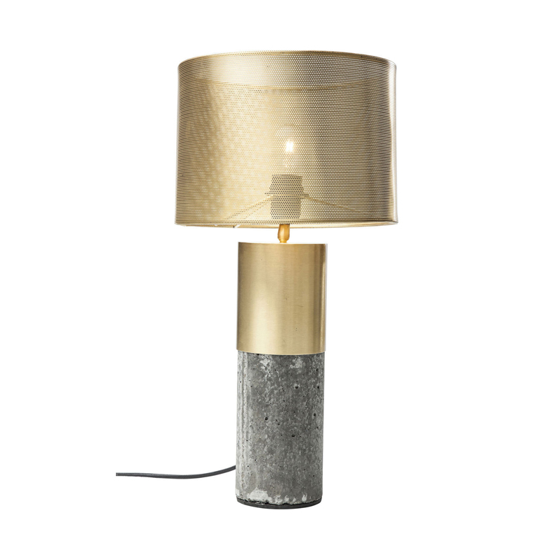 Bordlampa Miami gold