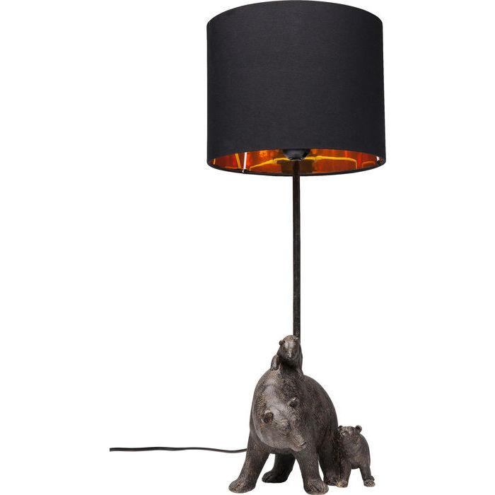 Annorlunda bordslampa med djurmotiv