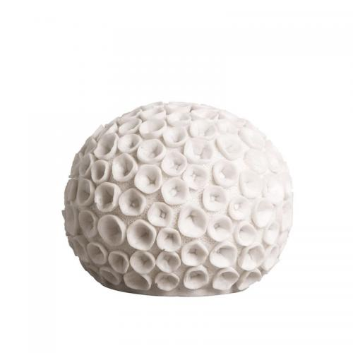Lampa Vit Korall 25 cm.