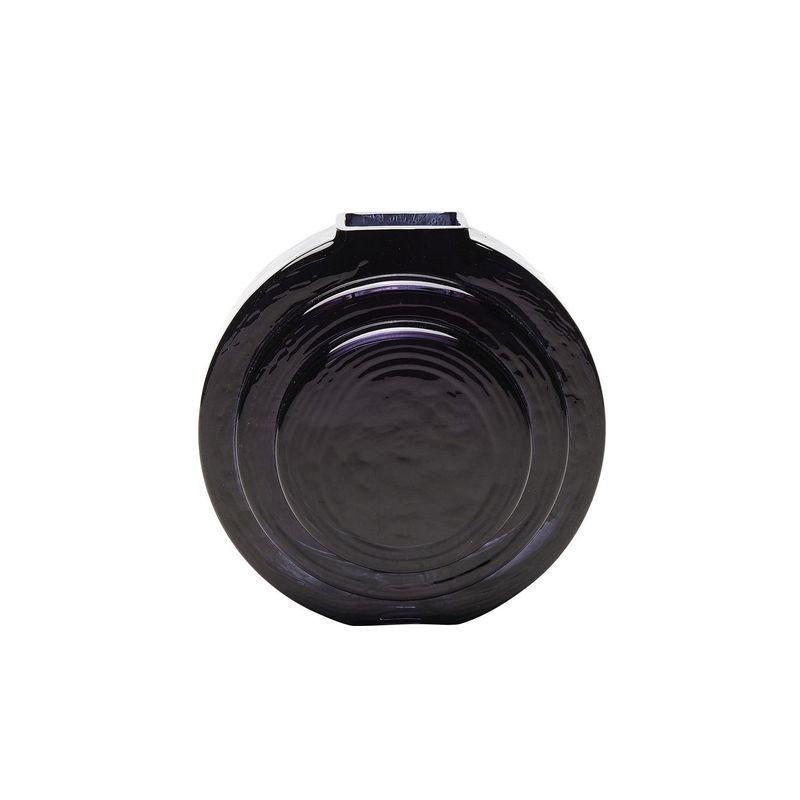 Vas Disc, svart glas