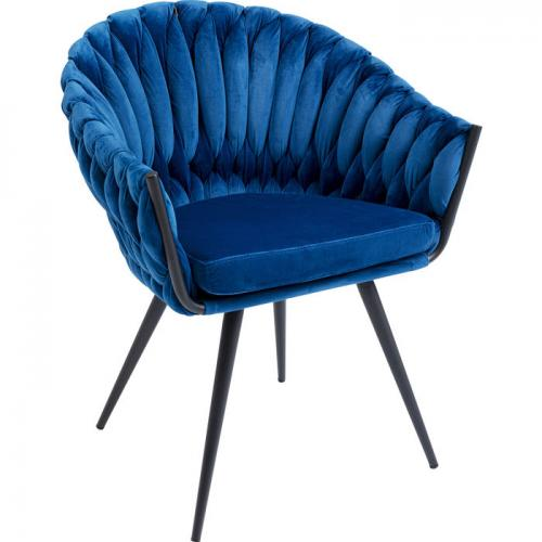 Karmstol Knut, blå