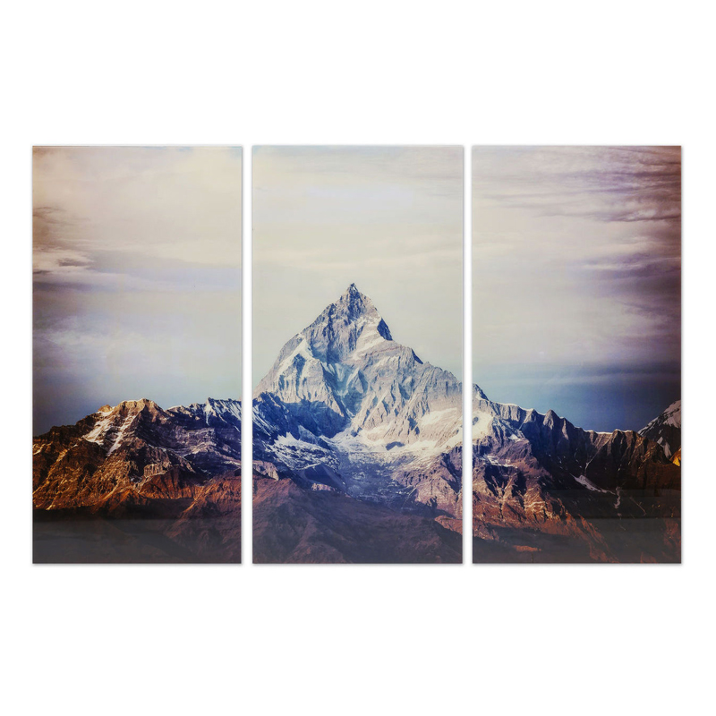Stor glastavla av magnifika Matterhorn - Wohnzimmer.se
