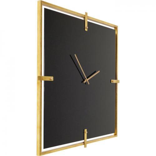 Väggklocka Mamba Gold 91x91 cm