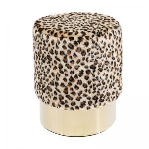 Sittpuff | Pall Leopardmönstrad