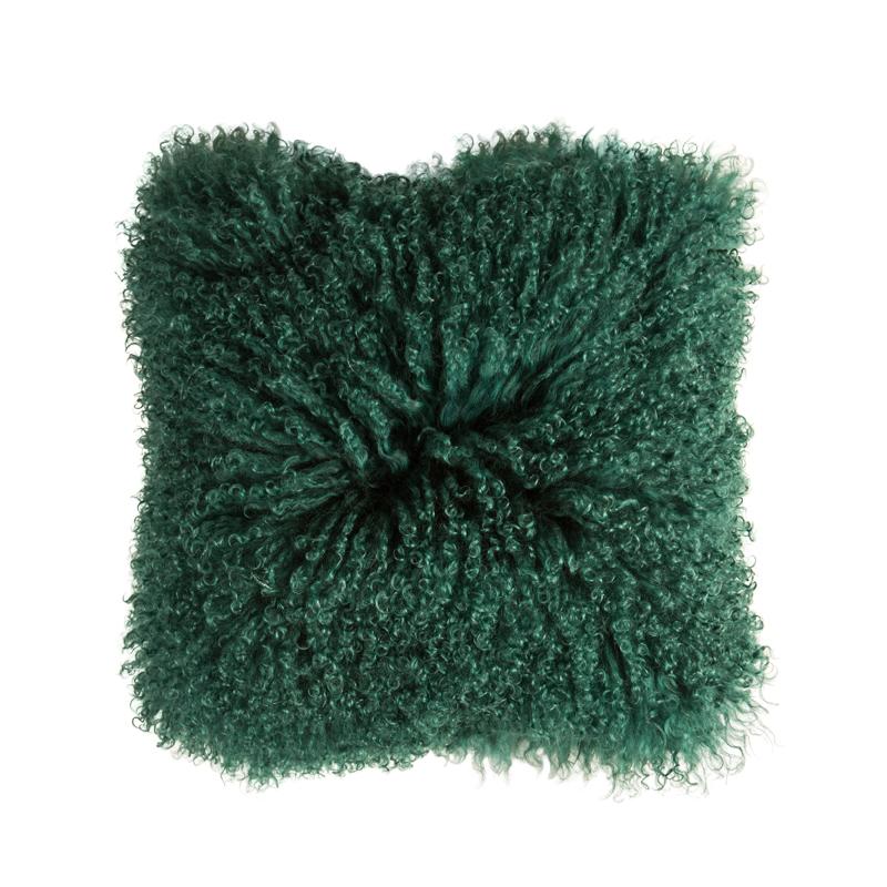 Kudde Päls Grön