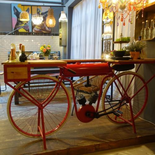 Konsolbord Röd Cykel