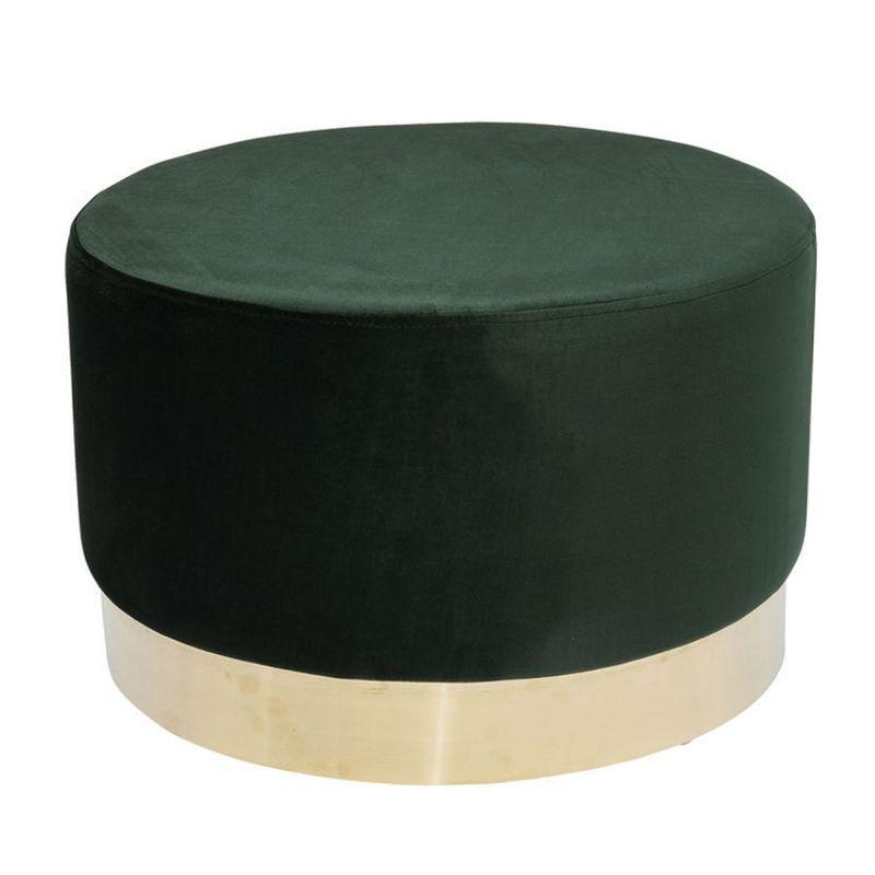 Sittpuff Sammet Grön 55 cm