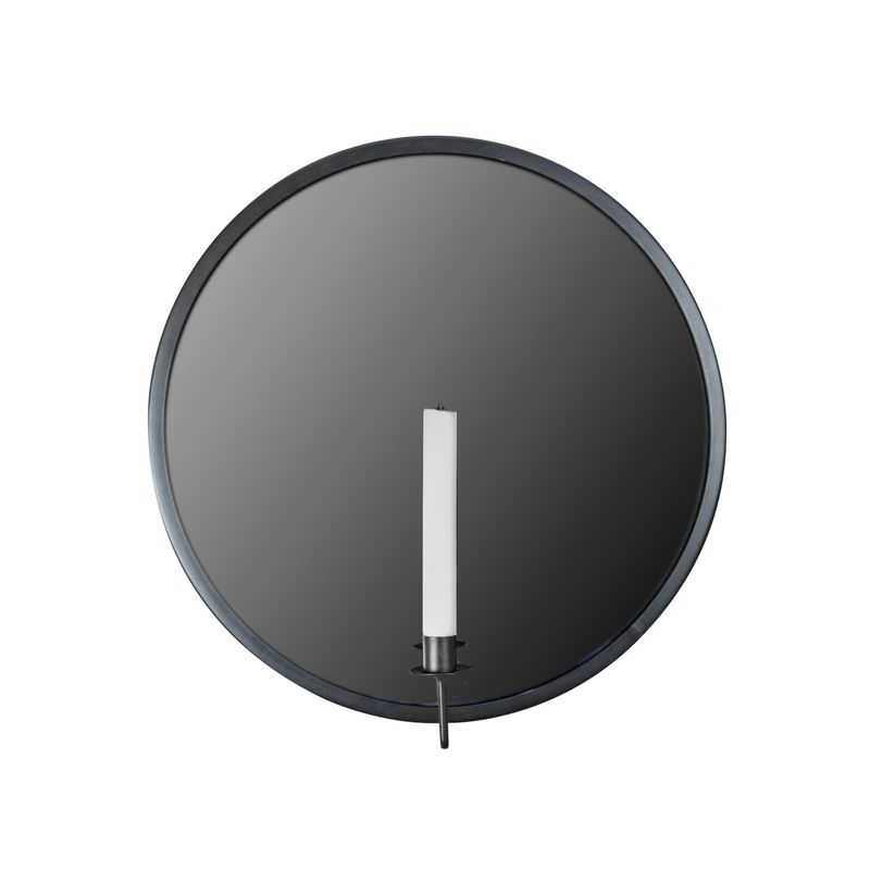 Väggljusstake Spegel Noir