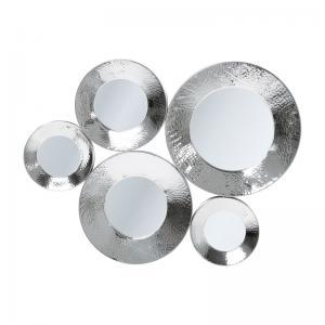 Spegel Circoli Cinque silver
