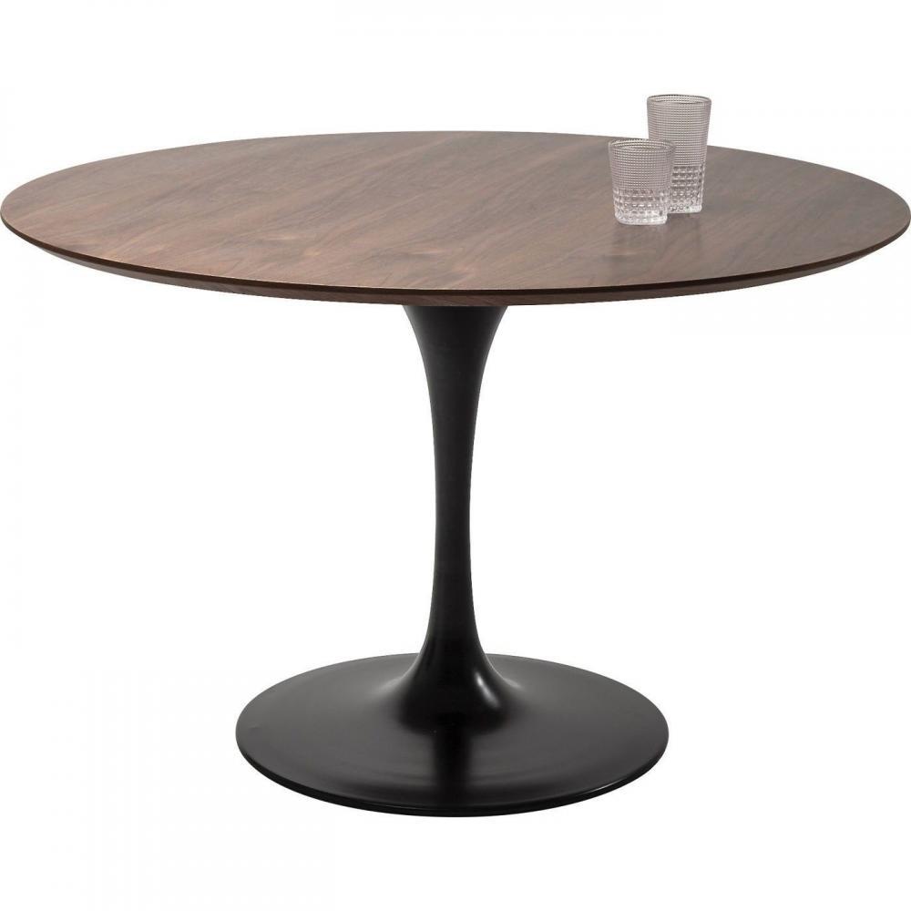 Runda matbord med valbara underreden och bordsskivor