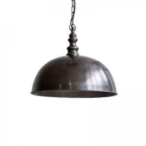 Taklampa Nobis Stålgrå, 41 cmØ