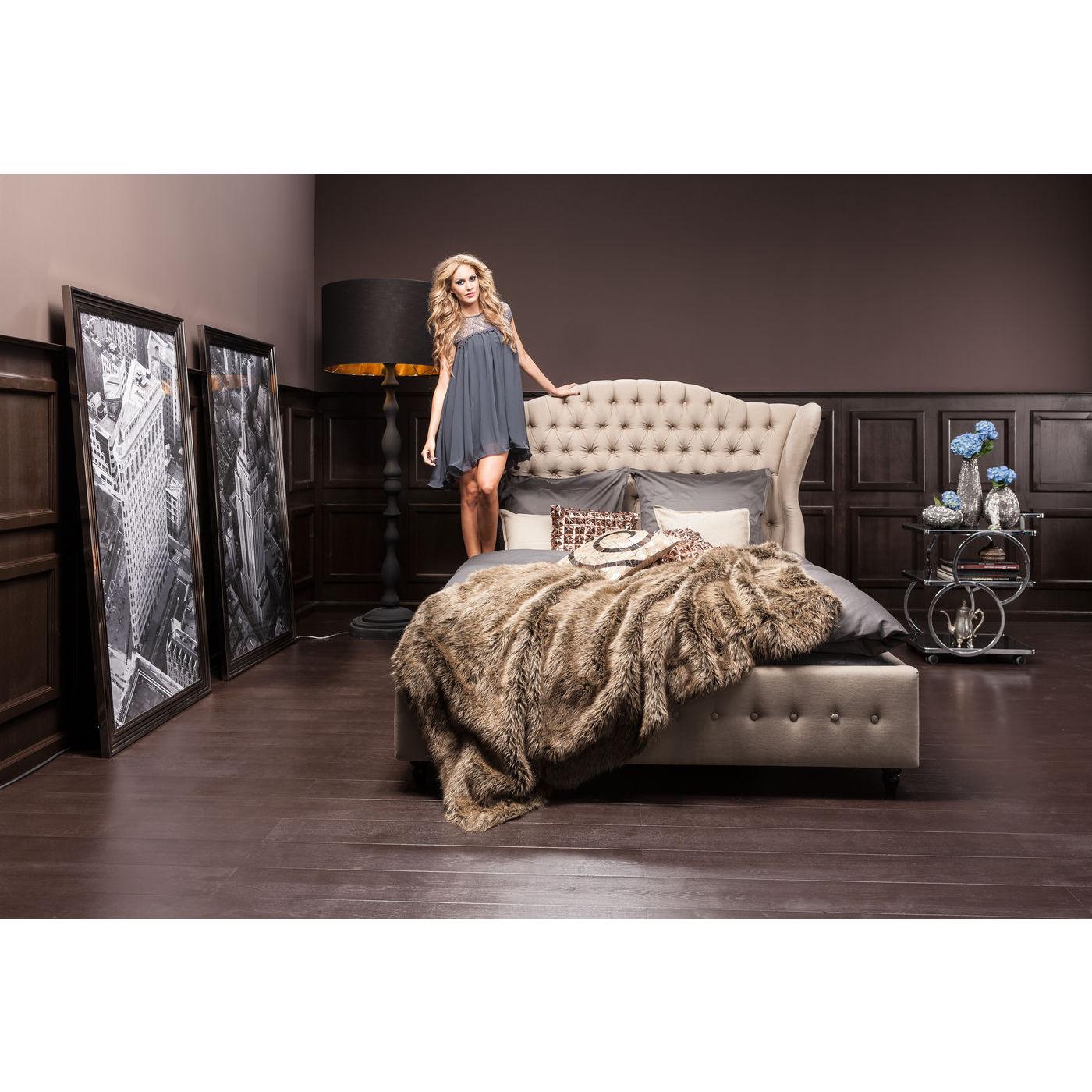 Säng Boudoir Grey 180 x 200 cm