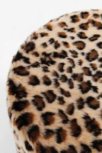Sittpuff   Pall Leopardmönstrad