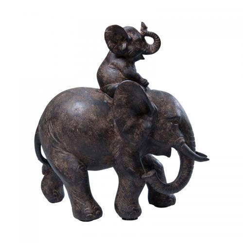 Skulptur Baby Elephant trip