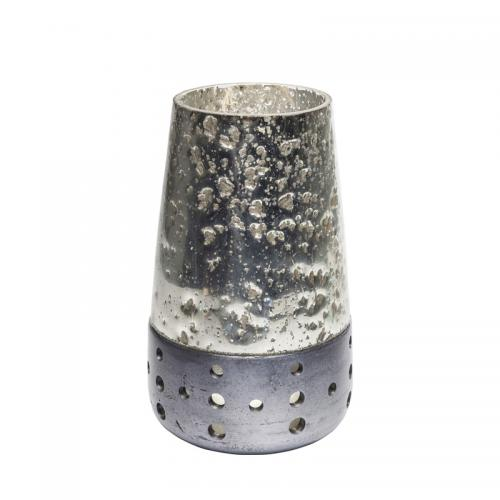 Ljuslykta Silver 27 cm.
