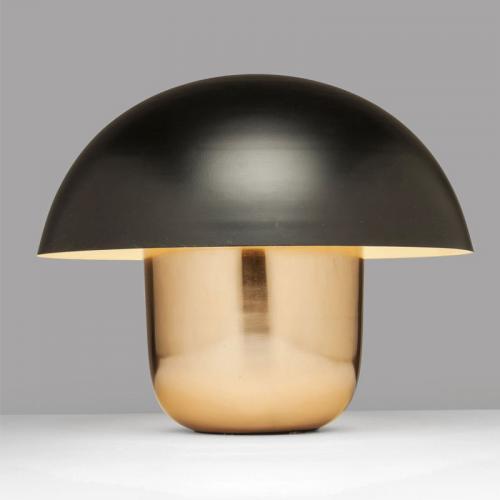 Bordslampa Svampen svart