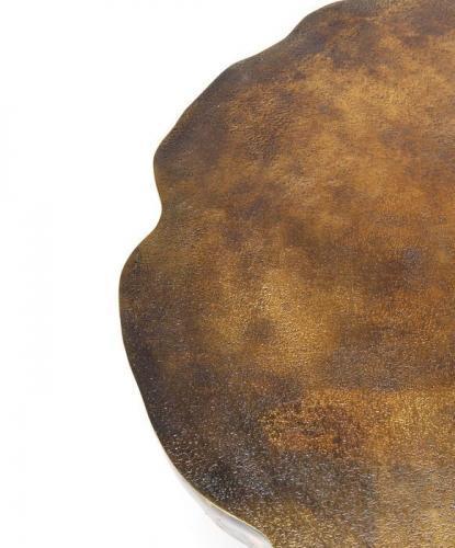 Soffbord Metallic Brons, 72 cmØ