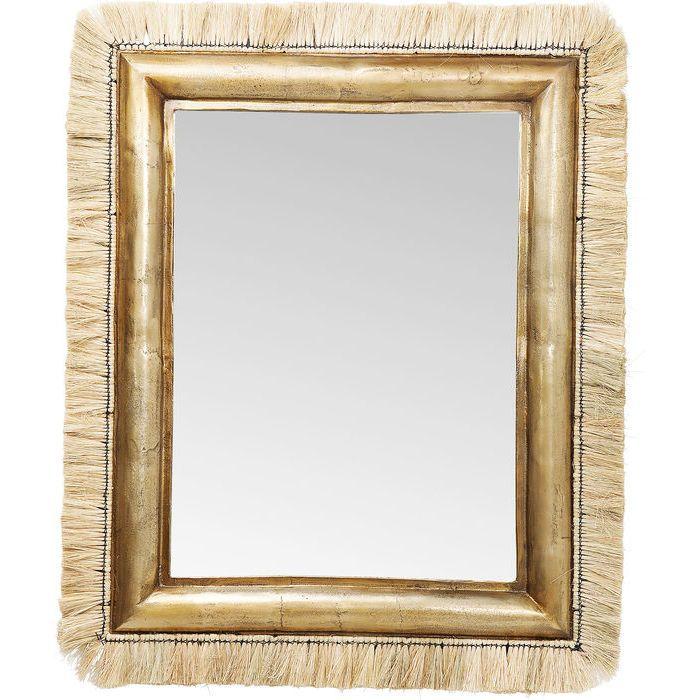 En läcker och annorlunda spegel i bohem-chic stil.
