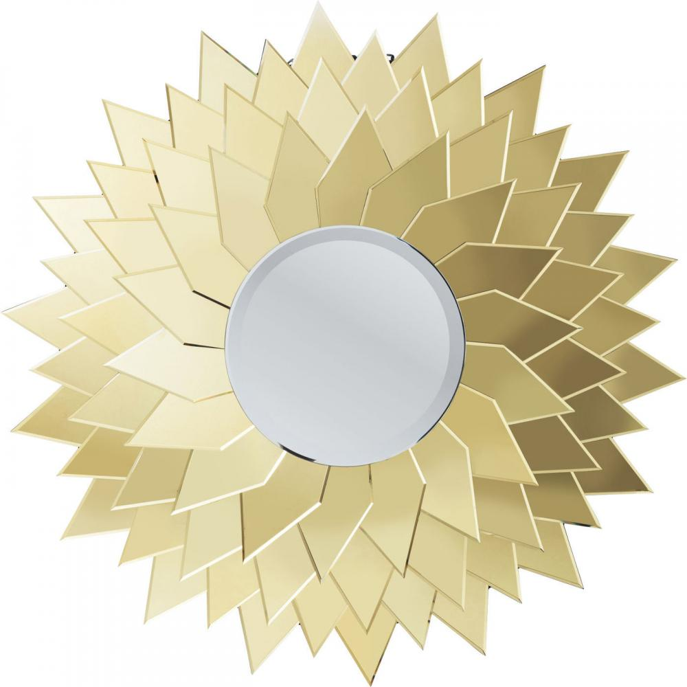 Unik solspegel helt i spegelglas - wohnzimmer