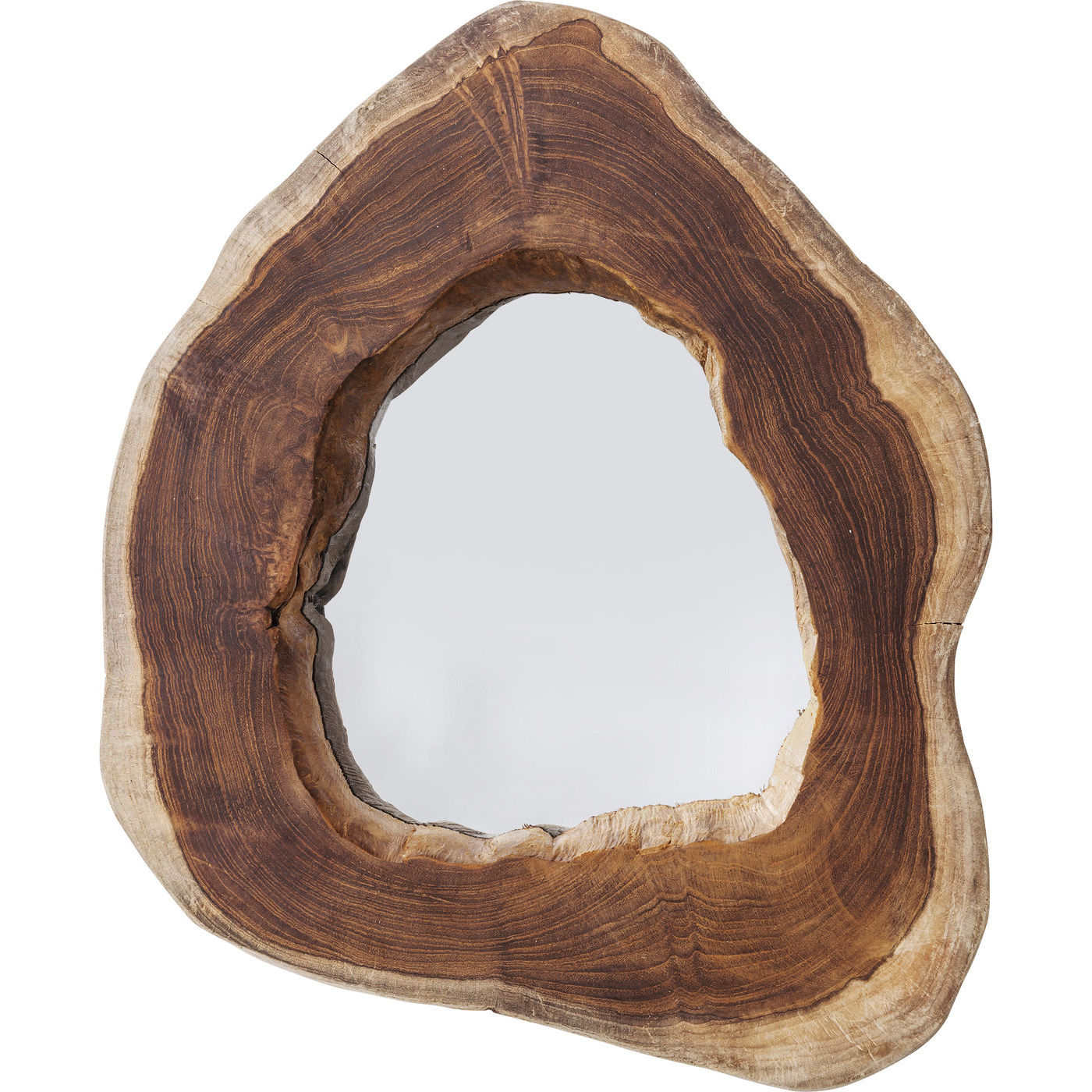 Spegel trästam
