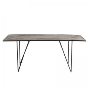 Matbord Skiffer grå