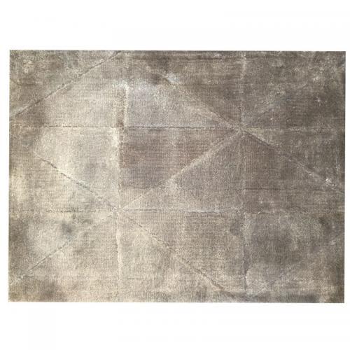 Matta Pyramid Ljusgrå Sand, 190x290 cm