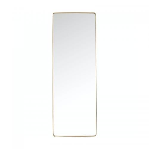 Helkroppsspegel Clean Mässing 200 cm