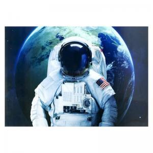 Glastavla Astronaut 120x180 cm