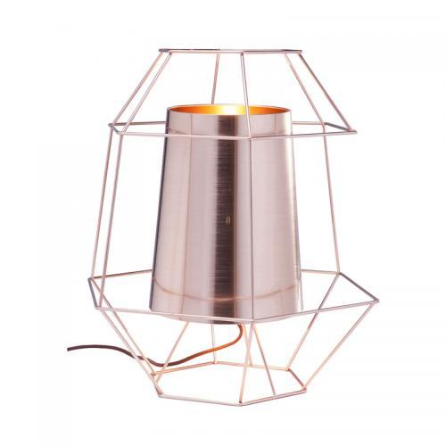Bordslampa Wire Copper
