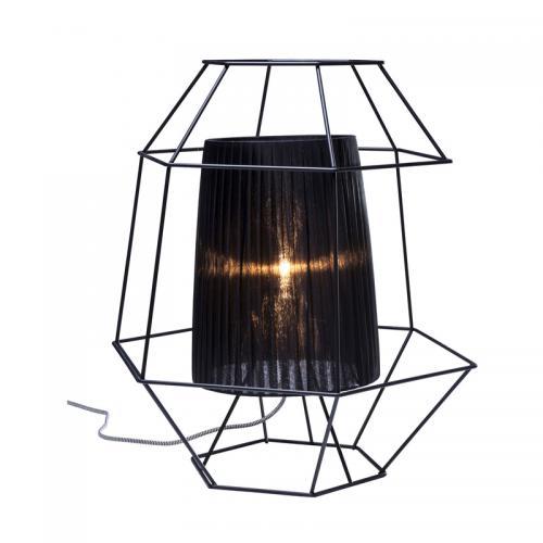Bordslampa Wire Black