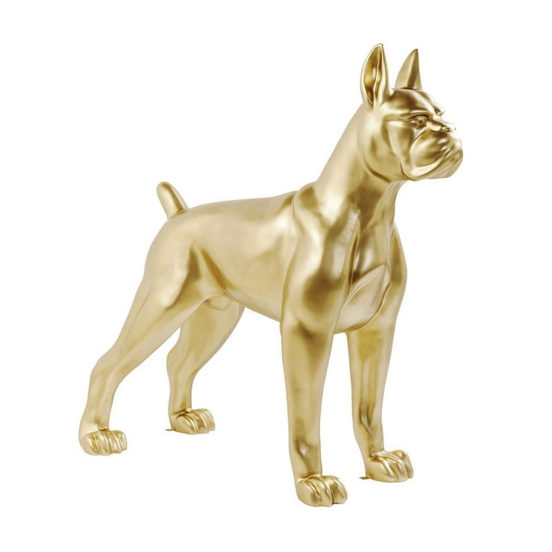 Staty | Skulptur Golden Doggy XL