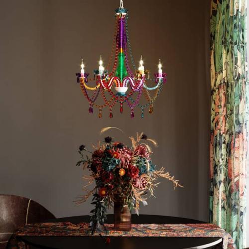 Lampkrona Kitsch & Colour