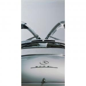 Glastavla Mercedes Gull-wing, 240 cm