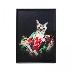 Kul konst av Drottning Katt - läcker kitsch!