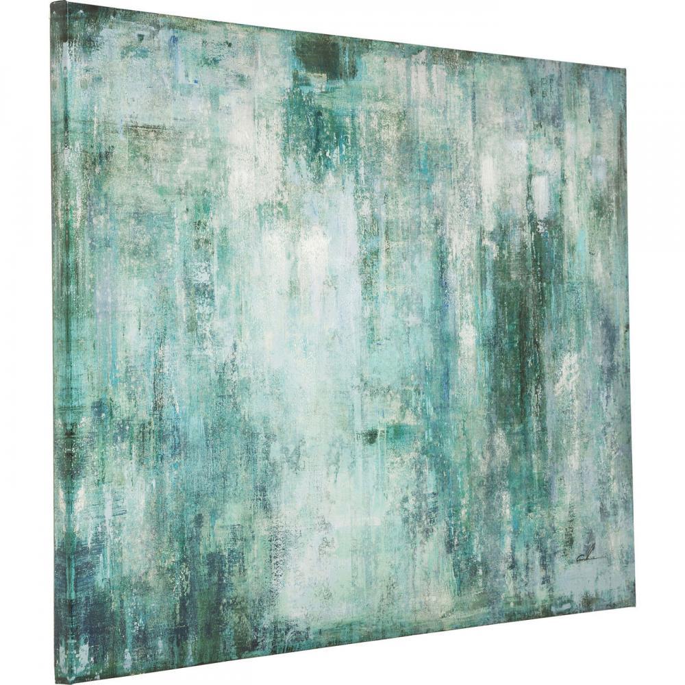 Stor tavla i abstrakt motiv - Wohnzimmer.se