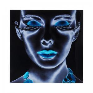 Glastavla Neon Woman