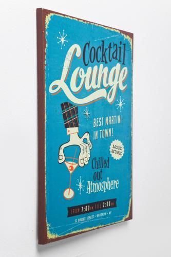 Skylt | tavla Diners Vintage 3-set