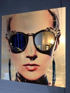 Spegel | Fototavla Sunglasses 120 cm