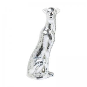 Skulptur Panther Silver XL, left