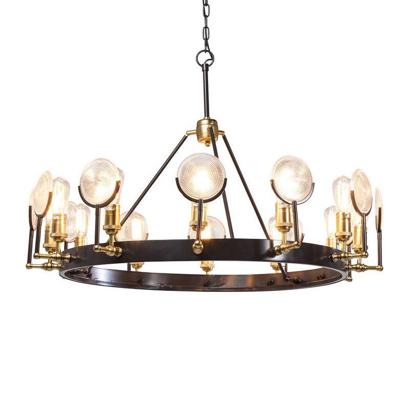 Unika och spektakulära lampkronor i olika stilar