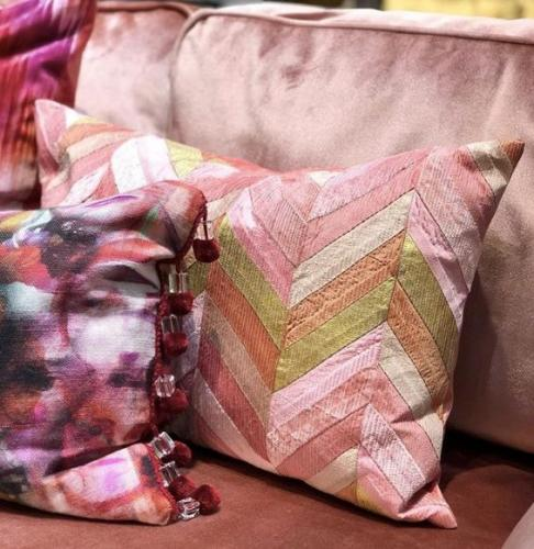 Kuddfodral Handicraft Rosa