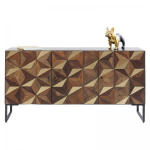 Sideboard intarsia Guld