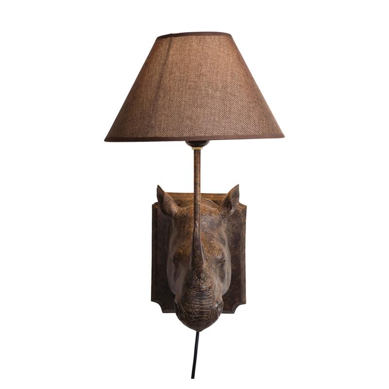 Vägglampa Colonial Rhino