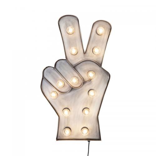 Vägglampa Peace