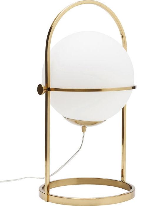 En elegant bordslampa i typisk art deco-stil